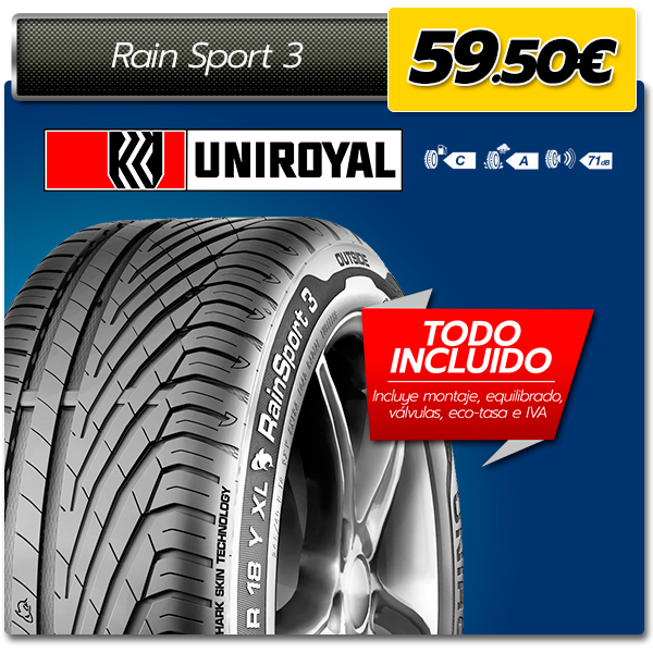 uniroyal 205 55 R16 neumaticos baratos